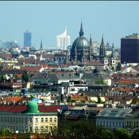 Cityscape and City View in Vienna, Austria