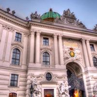 Palace Architecture in Vienna, Austria