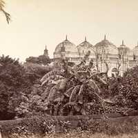 Mahomed Mosque at Dhaka in 1885 in Bangladesh