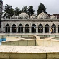 Mosque holy temple in Dhaka, Bangladesh