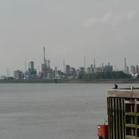 Chemical Plants in Antwerp, Belgium
