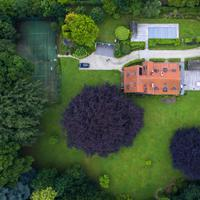 Overhead view of Rich Estate in Brussels, Belgium