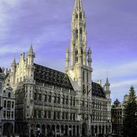 Town hall of Brussels, Belgium