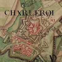 Charleroi Map in the 1770s in Belgium