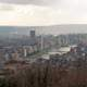Cityscape view of Liege, Belgium