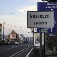 Main road between Brussels and Leuven in Nossegem , Zaventem, Belgium