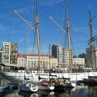Museumship, the barquentine Mercator in Ostend, Belgium