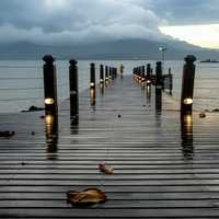 Dock into the Water in Ilhabela, Brazil