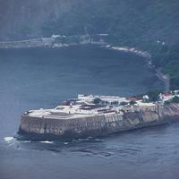 Santa Cruz Fortress in Niteroi, Brazil