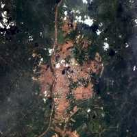 Satellite Image in Teresina, Brazil