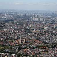 Complete overview of Sao Paulo, Brazil