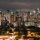 Night time City Skyline of Sao Paulo, Brazil