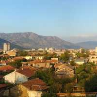 Panorama View of Sliven, Bulgaria