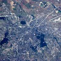 Satellite Photo of Sofia, Bulgaria