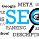 Search engine optimization - SEO sign