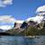Lake Minnewanka Scenic landscape in Banff National Park, Alberta, Canada