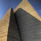 Pyramid-shaped detail of the Grant MacEwan College in Edmonton