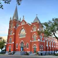 Sacred Heart Church in Edmonton, Alberta