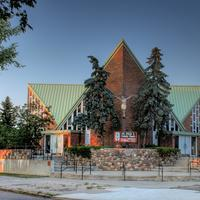 Saint Pius X Catholic church in Edmonton
