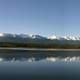 Pyramid Lake Panoramic at Jasper National Park, Alberta, Canada