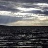 Waters and sunlight on Lesser Slave Lake