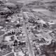 Aerial View of Langley City in 1959 in British Columbia, Canada