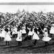 May Day celebrations in 1913 in New Westminster British Columbia, Canada
