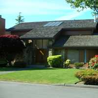 Typical Richmond home in British Columbia, Canada