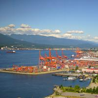 The Docks of Vancouver in British Columbia, Canada