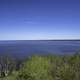 View of Lake Winnipeg from the Observation tower at Hecla Provincial Park