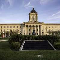 Manitoba Capital building in Winnipeg