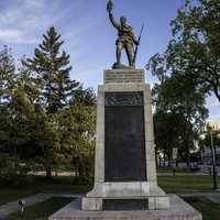 World War I Memorial and Monument in Winnipeg