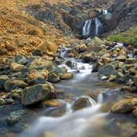 Rushing Mountain Stream in Gros Morne National Park