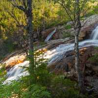 Southeast Brook Falls in Gros Morne National Park