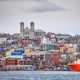 Downtown St. Johns in Newfoundland