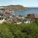 St. John's overview and landscape on the cape