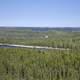 Lakes cutting into the Pine Forest Landscape on the Ingraham Trail