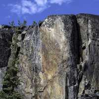 Large Rockface on the Cameron Falls Trail