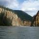 River and Canyon Landscape in Nahanni National Park