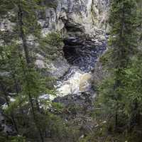 View of the Waterfall from above
