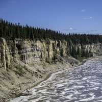 The Cliffs and Scenery on the Hay River