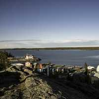 Shoreline along Great Slave Lake, Yellowknife
