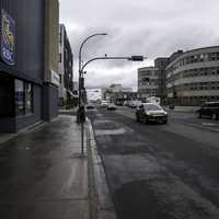 Streets of downtown Yellowknife