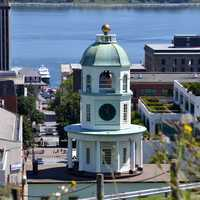 City Hall and Town in Halifax, Nova Scotia