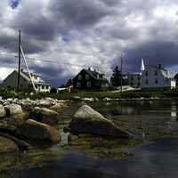 Village of Prospect landscape in Halifax, Nova Scotia