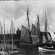 Schooners in Glace bay in 1914 in Nova Scotia