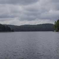 Clouds over the Water at Algonquin Provincial Park, Ontario