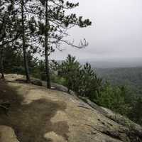 Overlook at the Bluff at Algonquin Provincial Park, Ontario