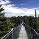 Suspension Bridge across the canyon at Eagle Canyon, Ontario