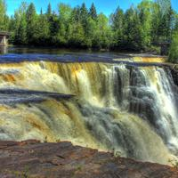 Across the Falls at Kakabeka Falls, Ontario, Canada
